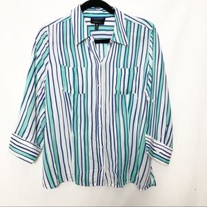 Foxcroft petite fitted fit button down